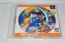 Rockman/Megaman X4 PS1 Japan Import North American Seller Game and Manual Only