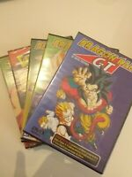 Dvd  lote 5 dvd  DRAGON BALL GT  DE AKIRA TORIYAMA  (nuevo precintado )