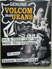 Volcom surf skateboard snowboard Valient Thorr 2 Sided Poster ~Mint Condition~!