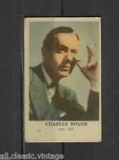 Charles Boyer Vintage Movie Film Star Trading Card #77