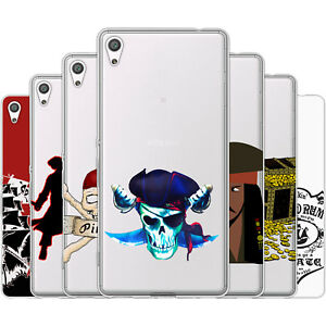Dessana Pirates TPU Silicone Protective Case Pouch Cover For sony