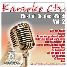 KARAOKE CD * Best of tedesco-Rock vol.2 UA allo stato puro medici * * morti Pantaloni * principe
