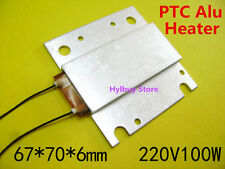 AC 220V 100W PTC Heater Thermostat Heating Block Plate constant temperature