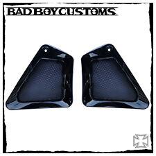 Harley Davidson original Rahmenblenden/Sidecover black mit schwarzen Gittern