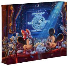 Thomas Kinkade Studios Celebrating 90 Years of Mickey 8 x 10 Wrapped Canvas