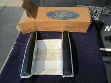NOS 1980 1981 1982 1983 1984 1985 1986 Ford Truck Bronco Chrome Bumper Guards