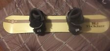 New listing Crazy Creek Tickler Snowboard - 135cm With Boots And Bindings