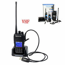DMRRetevis RT3 Digital Mobile VHF Radios Bidirezionale1000CH&1Programming Cable