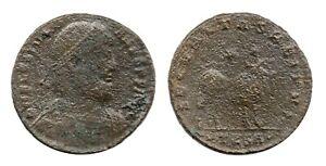 Roman Imperial Coin / Julian II / AE1 / SECVRITAS REIPVB / TESA / 355-363 AD