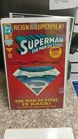 SUPERMAN MAN OF STEEL 22 - SIGNED  BOGDANOVE - NM  SEE PIC