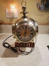 1972 Schlitz beer diving bell style lighted cash register clock!