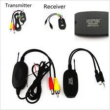 Sans fil 2,4 ghz émetteur vidéo RCA & récepteur kit pour voiture caméra de vision arrière