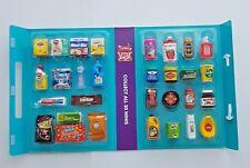 Coles Little Shop 1 Mini Collectables  ( Nutella, OAK, Vicks, Vegemite,Tuna, OJ)