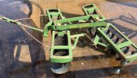 Vintage Eska Ertl John Deere Disc 1950's 620 attachment metal wheels