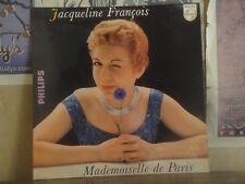 JACQUELINE FRANCOIS, MADEMOISELLE DE PARIS - HOLLAND LP P 77125 L MICHEL LEGRAND
