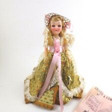 Vintage Story Book Doll Cinderella Shoe Mail Order 7 In Hard Plastic 60s
