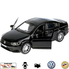 VW Volkswagen Passat Black Diecast Metal Model Car Toy Die-cast Cars