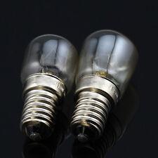 2x E14 T22 T25 15W 25W Heat Resistant 300'C Toaster Steamer Oven Bulb 110V 120V