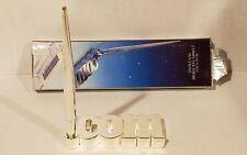 Godinger Pen .com & Holder Stand. Silver Plate Computer Theme Rare Hard to Find