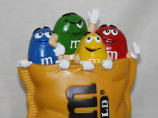 "FINAL OFFER: 2000 M&M's World ""YELLOW CHARACTER COIN BANK"" LV Store Excel Cond."