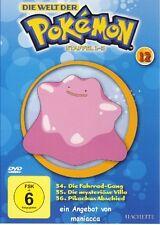 DIE WELT DER POKEMON 12   1. Staffel / 34-36    DVD #ZZ   Pokémon