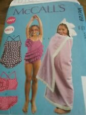 Girls Swimsuits and cover up size 3,4,5,6