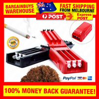 Manual Triple Cigarette Tube Injector Roller Maker Tobacco  Machine