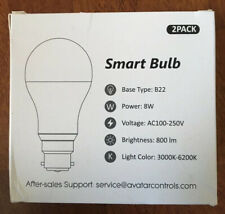 Smart Bulb 8W Type B22.Bayonet