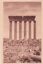 LEBANON - Baalbeck - Les 5 dernieres colonnes des 54 du Temple du Jupiter 2