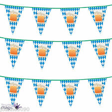 6m Eurovision Bavarian German Beer Party Pub Bunting Flags Banner Decoration
