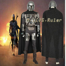 New product Star Wars Boba Fett Mandalorian Cosplay Costume Halloween full suit