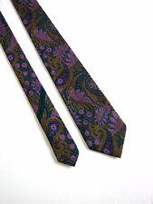 GIVENCHY PARIS Cravatta Tie Originale 100% SETA SILK MADE IN ITALY
