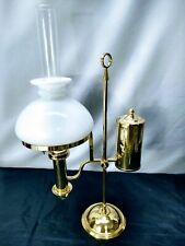 Antique Brass Single Arm Student Oil Lamp