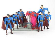 DC Comics Superman 6 Different Figures Returns Super Breath Plus SDCC Platform