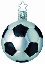 Inge-Glas 1-052-04 World Cup Soccer Ball German Hand Blown Christmas Ornament