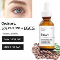 The Ordinary 30ml Caffeine Solution 5% + EGCG Dark Circles Toner Puffy Eyes Skin