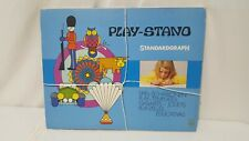 Vintage 1970 Standardgraph Play Stand. Made in Germany. Art Graphs.