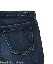 Earnest Sewn Jeans Harlan Keaton Bootcut Dark Blue Stretch 28 x 29 SHORT