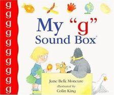 "My ""G"" Sound Box(r) (Sound Box Books)-ExLibrary"
