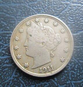 1911 USA Liberty V Nickel, 5 Cents, *Full Liberty*