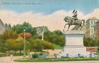 GENOVA – Monumento a Vittorio Emanuele II – Genoa – Italy