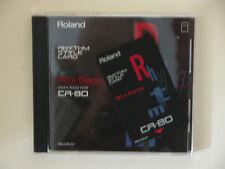 Roland Rom CARD for CR-80 RN CR 01 90' Dance RHYTHM STYLE CARD House Rap Dance