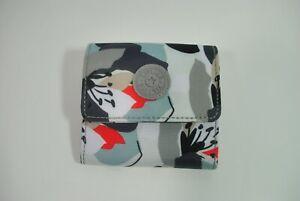 New With Tag KIPLING CECE NR Print Small Wallet KI0952 6EX - Vivid Garden Mix
