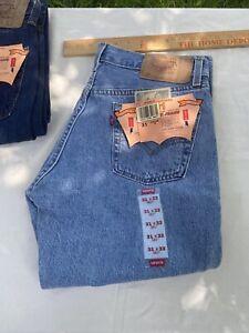 Vintage LEVI'S 501 701 student Jeans PreShrunk Button Fly Deadstock 31 X 31