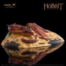 WETA The Hobbit Desolation Of Smaug: Smaug King Under The Mountain Statue NEW