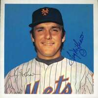 Tug Mcgraw Psa Dna Coa Autograph 8x8 Team Issued Photo  Hand Signed Authentic