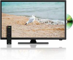 "Axess TVD1805-22  22"" Flat Panel HDTV LED HD TV w/ DVD Player HDMI SD & USB"