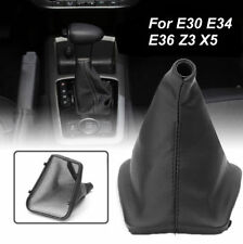 PU Leather Gear Stick Konb Cover Shift Gaiter Boot For BMW E30 E34 E36 Z3 X3