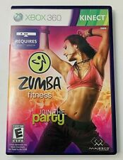 Zumba Fitness  Microsoft Xbox 360  2010 Complete