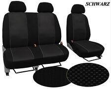 Für Volkswagen T5 / Caravelle paßgenaue Fahrzeugstoff-Sitzbezüge im Design VIP
